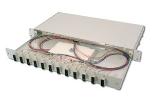 FIBER OPT.SPLICE BOX 12XSC OS1 EQUIPPED