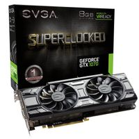 GeForce GTX 1070 8GB SC Gaming Grafikkort,  PCI-Express 3.0, GDDR5, BLACK EDITION, ACX 3.0, Pascal
