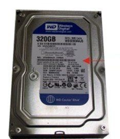 HDD 320GB SATA