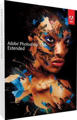 PHOTOSHOP EXTENDED CS6 V13 CLPE DVD SET SP