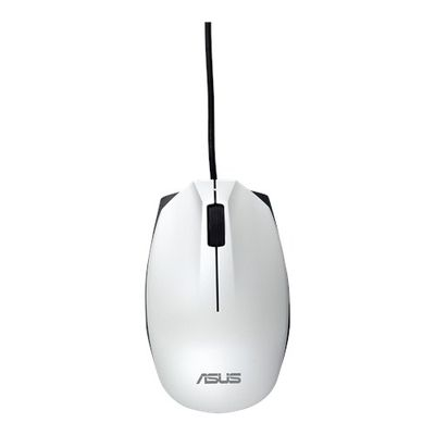 UT280 - WHITE USB MOUSE OPTICAL MOUSE 1000DPI IN