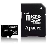 APACER Micro SDHC 32GB Secure Digital High Capacity Class 4 Retail (AP32GMCSH4-R)