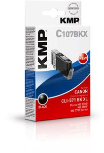 KMP C107BKX ink cartridge sw F-FEEDS (1568,0001)