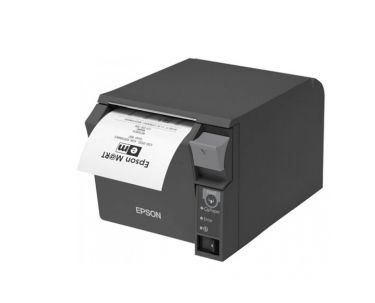 TM-T70II (025C0) UB-E04 BUILT-IN USB PS BLACK EU         IN PRNT