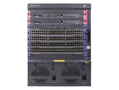 Hewlett Packard Enterprise 7506 Switch with 2x2.4Tbps Fabric and Main Processing Unit (JH332A)