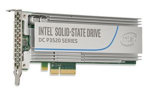 SSD DC P3520 SERIES 1.2TB 2.5IN PCIE3.0X4 3D MLC 7MM SINGLE PACK