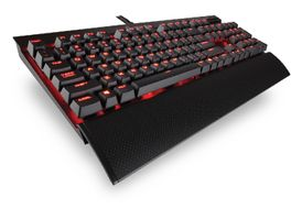 CORSAIR Gaming Keyboard K70 LUX Red LED Cherry MX Brown (CH-9101022-ND)