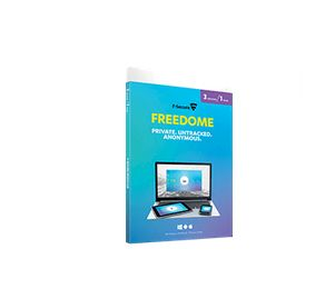 F-SECURE Freedome (1 year 3 device) (FCFEBR1N003NC)