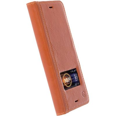 Krusell Sigtuna Smartcase Sony Xperia X Compact Cognac
