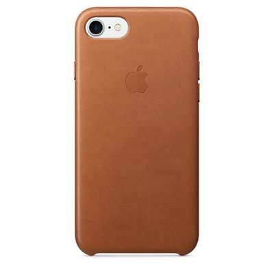 IPHONE 7 LEATHER CASE SADDLE BROWN