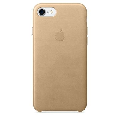 IPHONE 7 LEATHER CASE TAN