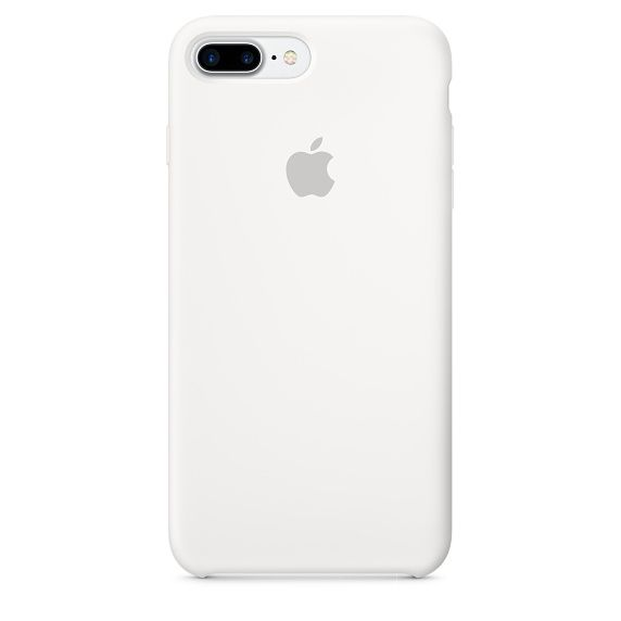 IP7 Plus Silicone Case White