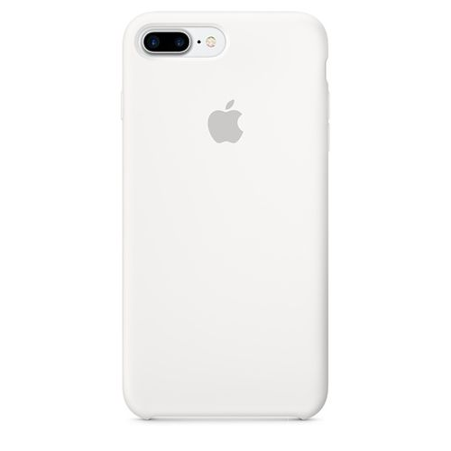 APPLE IP7 Plus Silicone Case White (MMQT2ZM/A)