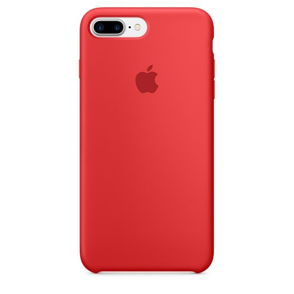 IP7 Plus Silicone Case Red