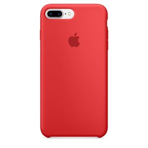 APPLE IP7 Plus Silicone Case Red (MMQV2ZM/A)