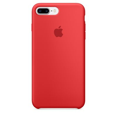 IPHONE 7 PLUS SILICONE CASE PRODUCT(RED)