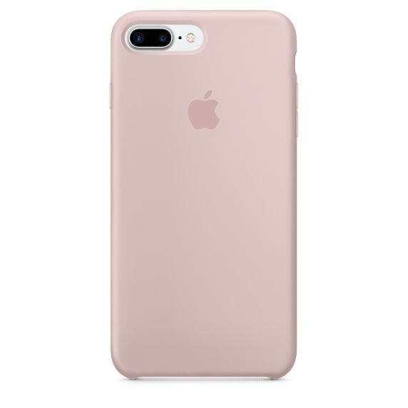 IP7 Plus Silicone Case Pink Sand
