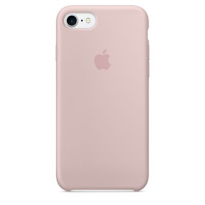 IPHONE 7 SILICONE CASE PINK SAND
