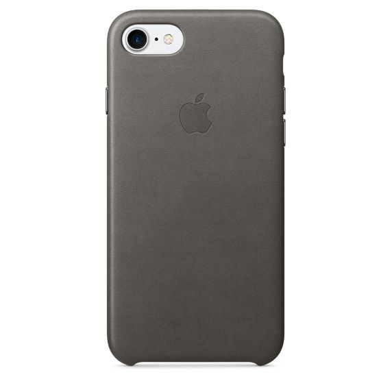 IP7 Leather Case Storm Grey