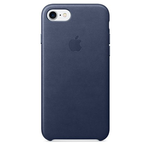 APPLE IP7 Leather Case M.Blue (MMY32ZM/A)