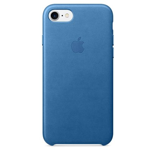 APPLE IP7 Leather Case Sea Blue (MMY42ZM/A)