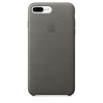 IPHONE 7 PLUS LEATHER CASE STORM GRAY