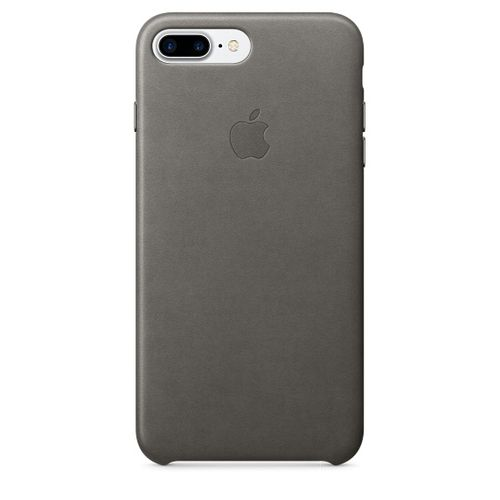 APPLE IP7 Plus Leather Case Storm Grey (MMYE2ZM/A)