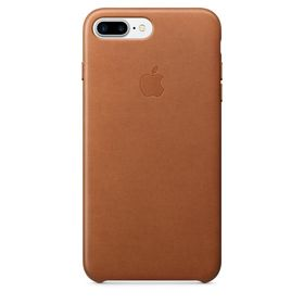 IP7 Plus Leather Case Saddle Brown