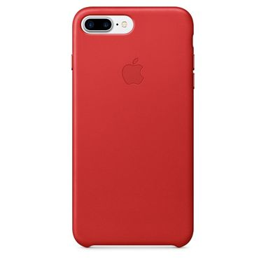 IP7 Plus Leather Case Red