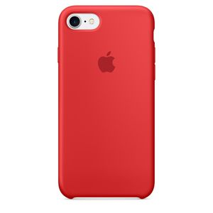 APPLE IP7 Silicone Case Red