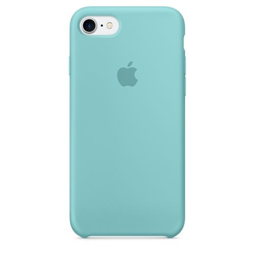 APPLE IP7 Silicone Case Sea Blue (MMX02ZM/A)