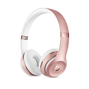 APPLE Beats Solo3 Wireless On-Ear Headphones Rose Gold (MNET2ZM/A)