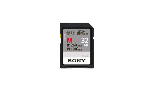SONY SF32M 32Gb Professional cl10 UHS-II R260 W100 (SF32M)