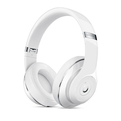 BEATS BY DR. DRE SOLO2 WIRELESS HEADPHONES GLOSS WHITE IN
