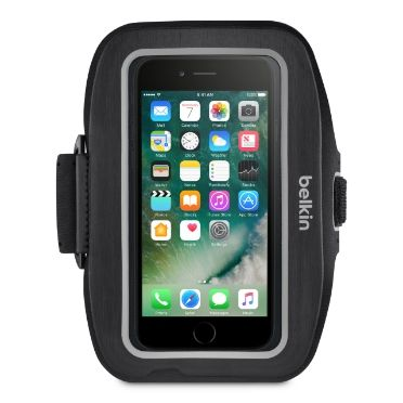 SPORT FIT PLUS ARMBAND FOR IPHONE 7 BLACK ACCS