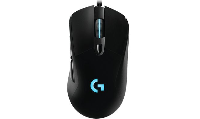Logitech G403 Prodigy Wired Gaming Mouse Mus Svart