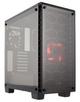 Crystal serie 460X ATX Midi Tower, no PSU