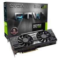 GeForce GTX 1060 6GB FTW+ Gaming Grafikkort,  PCI-Express 3.0, GDDR5, ACX 3.0, Pascal