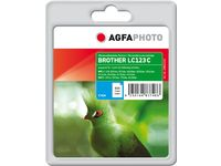 AGFAPHOTO Ink Cyan rpl LC123C, 11ml (APB123CD)