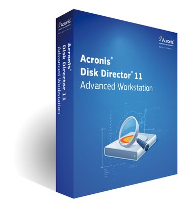 Acronis Disk Director 11 Adv Workstation (1-5) AAS ESD