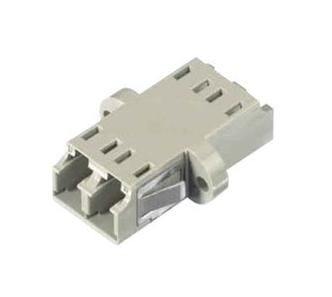 AMP Fiber Adaptor LC/LC OM2 MM Almond