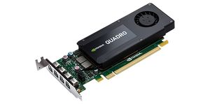 DELL Kit - NVIDIA Quadro 4GB_ Full Height (4 mDP) (4 mDP to DP adapters)_ (Kit) (490-BCZW)