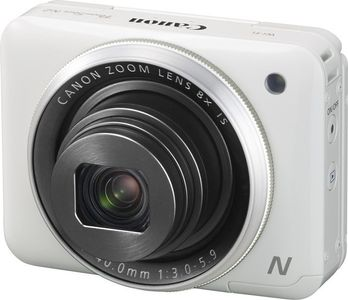 CANON PowerShot N2 Hvit 16,1 MP, 8X Zoom, 28mm, WiFi, Full HD, Tilt-up touch screen (9770B002)
