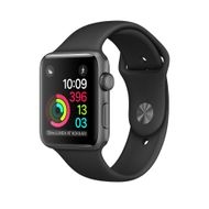 WATCH 1 42MM SPACE GREY ALU CASE WITH BLACK SPORT BAND   IN CONS