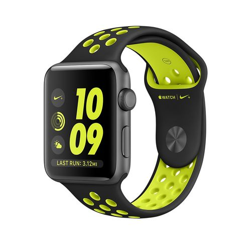 APPLE Watch Nike+42mm Space Grey Alumi (MP0A2DH/A)