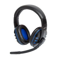 LX16 Evo Gaming Headset PC, PS4, Xbox One, Mac - schwar