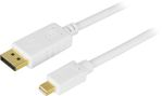 Deltaco DisplayPort till Mini DisplayPort