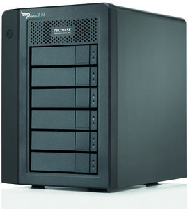 PROMISE Pegasus 2 R6 with 6 x 3TB SATA HDD Incl Thunderbolt cable (F40SR6R03100000)