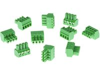 CONNECTOR A 4P3.81 STR 10PCS