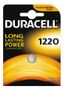 DURACELL Coin Battery, CR 1220, Lithium, 3V, 1-pack